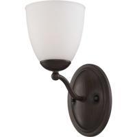 Nuvo Lighting Patton 1 Light Vanity in Prairie Bronze 60/5131