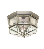 Nuvo Lighting Signature 3 Light Close-to-Ceiling in Brushed Nickel 60/514
