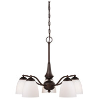 Nuvo Lighting Patton 5 Light Chandelier in Prairie Bronze 60/5143