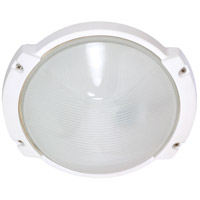 Nuvo Lighting Signature 1 Light Outdoor Wall Lantern in Semi Gloss white 60/516 photo thumbnail