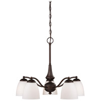 Nuvo Lighting Patton 5 Light Chandelier in Prairie Bronze 60/5163