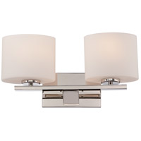 Nuvo 60/5172 Breeze 2 Light 17 inch Polished Nickel Vanity Light Wall Light