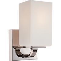 Nuvo Vista 1 Light Vanity Light in Polished Nickel 60/5181