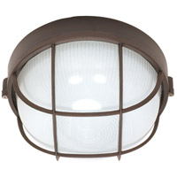 Nuvo Lighting Signature 1 Light Outdoor Wall Lantern in Architectural Bronze 60/519 photo thumbnail