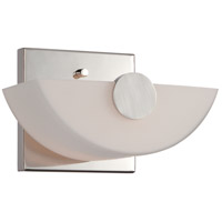Signature 1 Light 7 inch Polished Nickel Vanity Light Wall Light