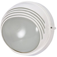 Nuvo Lighting Signature 1 Light Outdoor Wall in Semi Gloss white 60/520