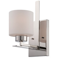 Nuvo Lighting Parallel 1 Light Vanity Light in Polished Nickel 60/5201