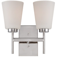 Nuvo Lighting Benson 2 Light Vanity Light in Polished Nickel 60/5212