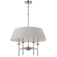 Nuvo 60/5218 Benson 4 Light 24 inch Polished Nickel Pendant Ceiling Light