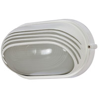 Nuvo Lighting Signature 1 Light Outdoor Wall in Semi Gloss white 60/522
