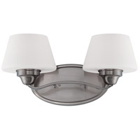 Ludlow 2 Light 17 inch Brushed Nickel Vanity Light Wall Light