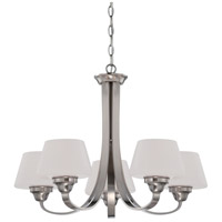 Nuvo Lighting Ludlow 5 Light Chandelier in Brushed Nickel 60/5225