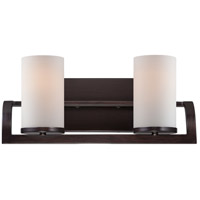 Nuvo Lighting Daytona 2 Light Vanity Light in Russet Bronze 60/5232