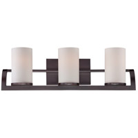 Nuvo Lighting Daytona 3 Light Vanity Light in Russet Bronze 60/5233