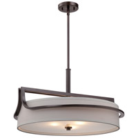 Nuvo Lighting Daytona 3 Light Pendant in Russet Bronze 60/5236