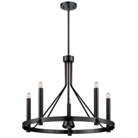 Nuvo Lighting Telegraph 6 Light Chandelier in Hazel Bronze 60/5243