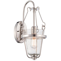 Nuvo Latham 1 Light Vanity Light in Polished Nickel 60/5286