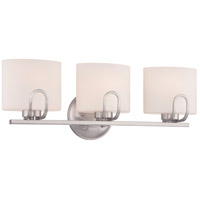 Nuvo Lola 3 Light Vanity Light in Brushed Nickel 60/5293