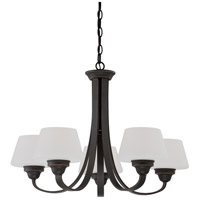 Nuvo Lighting Ludlow 5 Light Chandelier in Russet Bronze 60/5325