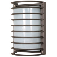 Nuvo Lighting Signature 1 Light Outdoor Wall Lantern in Architectural Bronze 60/533