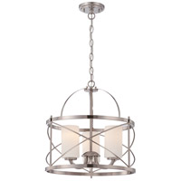 Nuvo Ginger 3 Light Pendant in Brushed Nickel 60/5333