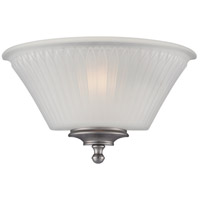 Nuvo 60/5371 Teller 1 Light 12 inch Aged Pewter Wall Sconce Wall Light
