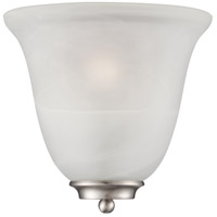 Empire 1 Light 10 inch Brushed Nickel  Wall Sconce Wall Light