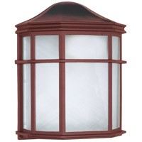 Nuvo 60/538 Signature 1 Light 10 inch Old Bronze Outdoor Wall Lantern