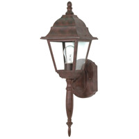 Briton 1 Light 18 inch Old Bronze Outdoor Wall Lantern