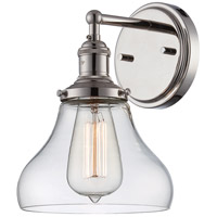 Nuvo Lighting Vintage 1 Light Wall Sconce in Polished Nickel 60/5413