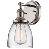 Nuvo Lighting Vintage 1 Light Wall Sconce in Polished Nickel 60/5414