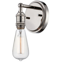 Nuvo Lighting Vintage 1 Light Wall Sconce in Polished Nickel 60/5415