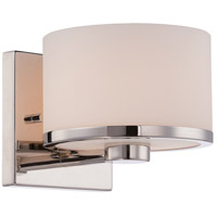 Nuvo 60/5471 Celine 1 Light 5 inch Polished Nickel Vanity Light Wall Light