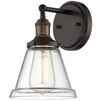 Nuvo Lighting Vintage 1 Light Wall Sconce in Rustic Bronze 60/5512
