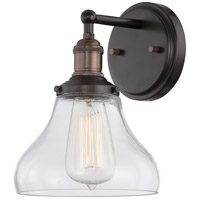 Nuvo Lighting Vintage 1 Light Wall Sconce in Rustic Bronze 60/5513