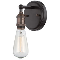 Nuvo Lighting Vintage 1 Light Wall Sconce in Rustic Bronze 60/5515