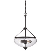 Nuvo 60/5547 Laurel 3 Light 16 inch Sudbury Bronze Pendant Ceiling Light