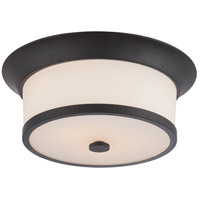 Nuvo 60/5560 Mobili 2 Light 13 inch Aged Bronze Flush Mount Ceiling Light