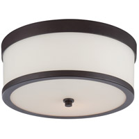 Nuvo 60/5576 Celine 2 Light 14 inch Venetian Bronze Flush Mount Ceiling Light