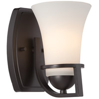 Nuvo 60/5581 Nevel 1 Light 5 inch Sudbury Bronze Vanity Light Wall Light