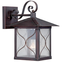 Nuvo Vega 1 Light Outdoor Wall Light in Classic Bronze 60/5612