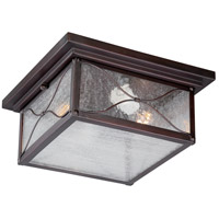 Vega 2 Light 11 inch Classic Bronze Outdoor Flush Mount