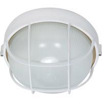 Nuvo 60/562 Signature 1 Light Semi Gloss white Outdoor Wall Lantern