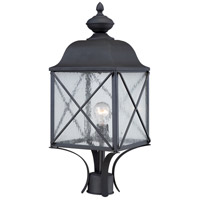 Nuvo Wingate 1 Light Outdoor Wall Light in Textured Black 60/5625