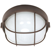 Nuvo Lighting Signature 1 Light Outdoor Wall Lantern in Architectural Bronze 60/563