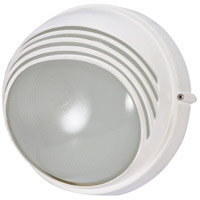Nuvo Lighting Signature 1 Light Outdoor Wall in Semi Gloss white 60/564