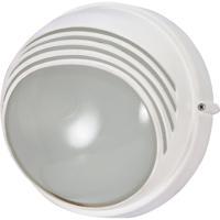 Nuvo 60/564 Signature 1 Light Semi Gloss white Outdoor Wall Lantern