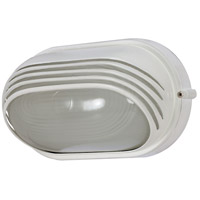 Nuvo 60/566 Signature 1 Light 10 inch Semi Gloss white Outdoor Wall Lantern