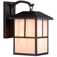 Nuvo 60/5672 Tanner 1 Light 14 inch Claret Bronze Outdoor Wall Light