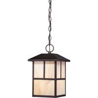 Nuvo 60/5674 Tanner 1 Light 8 inch Claret Bronze Outdoor Hanging Lantern